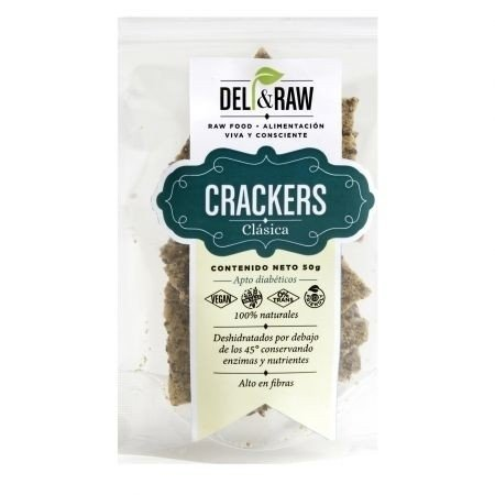 Crackers de clasica de 90 gr | Deli and raw
