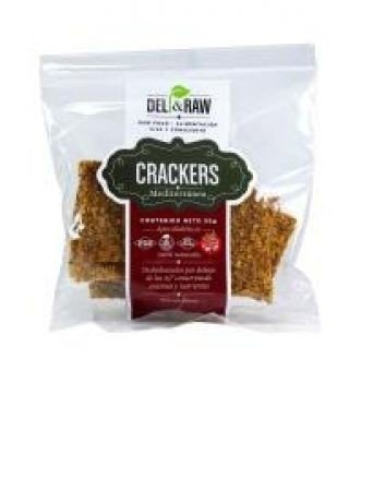 Crackers de Mediterranea de 90 gr | Deli and raw