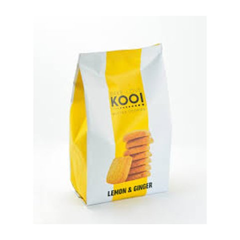 Butter cookies lemon & ginger x 180 grs | Bake Love Koo!
