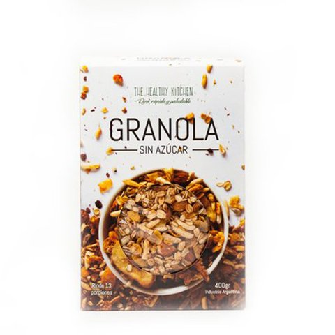 Granola sin Azúcar x400 grs - The Healthy Kitchen