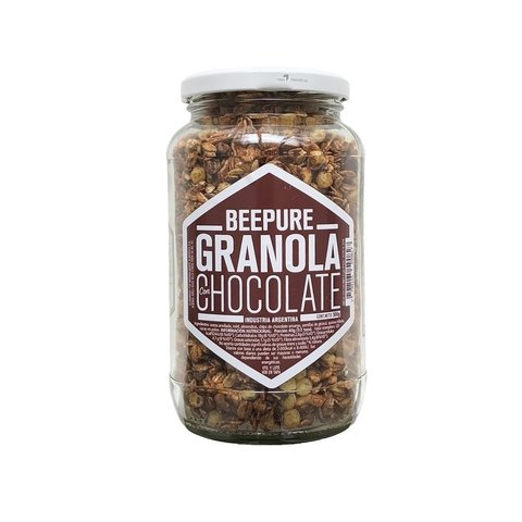 Granola de chocolate en FRASCO  x 350grs - Bee Pure