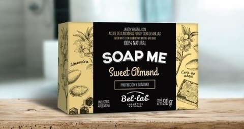 Jabon Sweet Almond - Soap Me