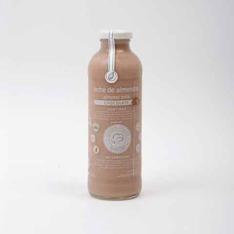 Leche de Almendra Chocolatada  475ml - Green Food Makers