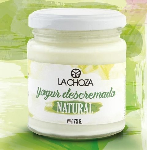 Yogur natural DESCREMADO x 175grs - LA CHOZA