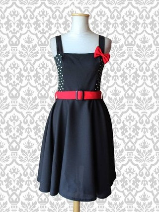 Vestido Retro Vintage  Pin Up falda plato