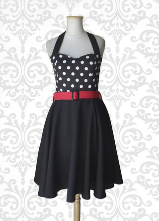 vestido pin up lunares ropa indumentaria pin up bariloche patagonia