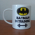 Taza Batman - in training