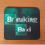 Mousepad/individual Breaking Bad