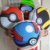 Combo almohadones con forma  Pokeball, Superball, Ultraball - Slam Hobbies