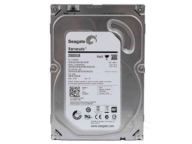 Disco Interno Seagate Barracuda Sata 2TB, 6Gb/s, 7200 Rpm, 3.5