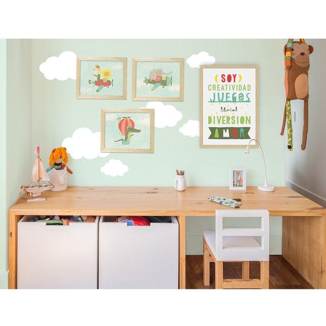 Afiche Enmarcado Soy Creatividad - La Pequeña Galeria