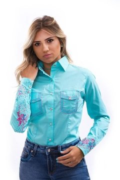 CAMISA MISS COUNTRY SHAPPIRE -  EXG - comprar online