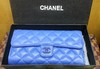Carteira de Grife Chanel Blue