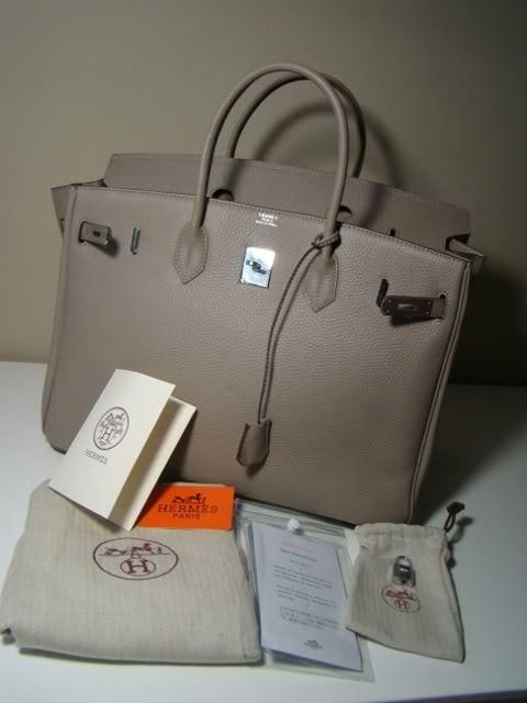 88f2c3ec1 ... PREMIUM - RÉPLICA Bolsa Hermès Birkin 35 Cinza Silver Italiana.  Esgotado. 25%. OFF. 1
