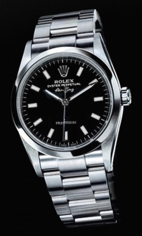 aa9d94e4f99 Relógio ROLEX DateJust Mostrador preto