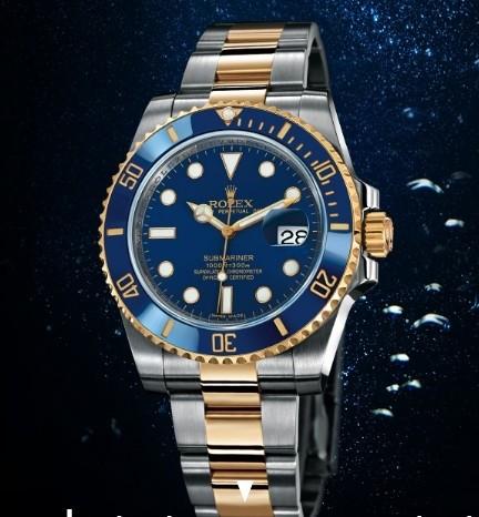 60e8d01b361 ... Relógio ROLEX Submariner Blue Gold. Esgotado. 0%. OFF. 1