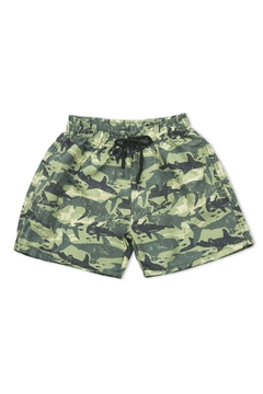 ART 8113 Short de baño Camuflado Shark