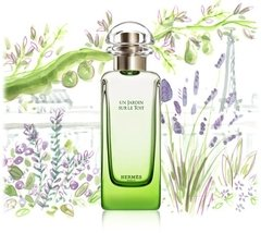 Un Jardin Sur Le Toit Hermes Compartilhavel - Decant - Perfume Shopping  | O Shopping dos Decants