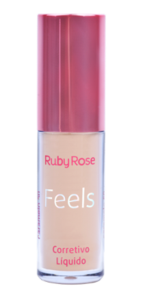 Corrector Líquido Feels HB8102-2  Caramelo 50 - Ruby Rose