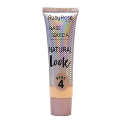 Base Natural Look Bege 4 set x 6 u con tester (HB8051-B4) - Ruby Rose - comprar online