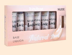 Base Natural Look Bege 4 set x 6 u con tester (HB8051-B4) - Ruby Rose
