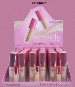 Corrector Líquido Feels HB8102-2  Caramelo 50 - Ruby Rose - comprar online