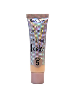 Base Natural Look Bege 5 set x 6 u con tester (HB8051-B5) - Ruby Rose - comprar online