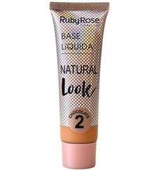 Base natural look chocolate 2 - Ruby Rose (HB8051c2)