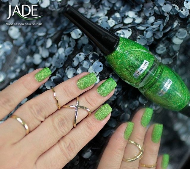 Esmalte Jade Special Glitz Sands Collection Arenado Detoxi