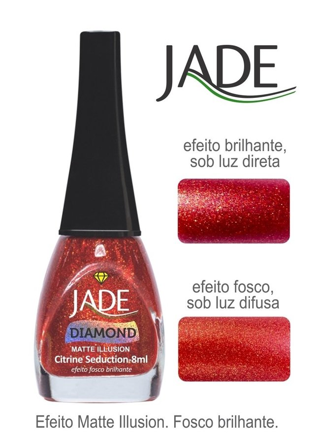 Esmalte Jade Diamond Matte Illusion Citrine Seduction - comprar online