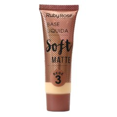Base soft matte bege 3 - Ruby Rose (HB8050)