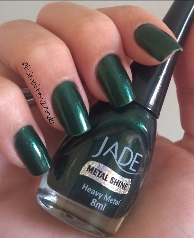 Esmalte Jade Metal Shine Heavy Metal