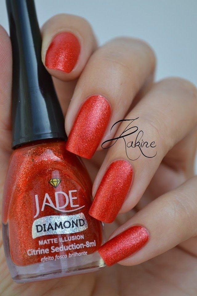 Esmalte Jade Diamond Matte Illusion Citrine Seduction