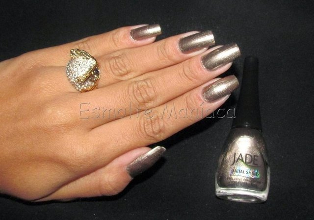 Esmalte Jade Metal Shine Exclusive Collection First Class