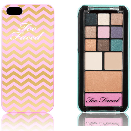Paleta de sombras Too Faced Candy Bar Jingle all the way Phone Case Exclusive Design for iPhone 5 only