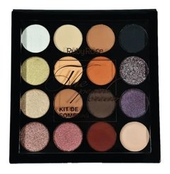 Paleta de sombras The peach cream - Ruby Rose (HB1023)