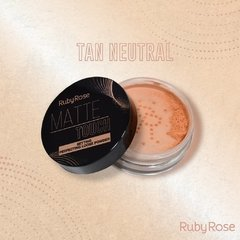 Polvo matte touch tan neutral - Ruby Rose (HB 7222-3)