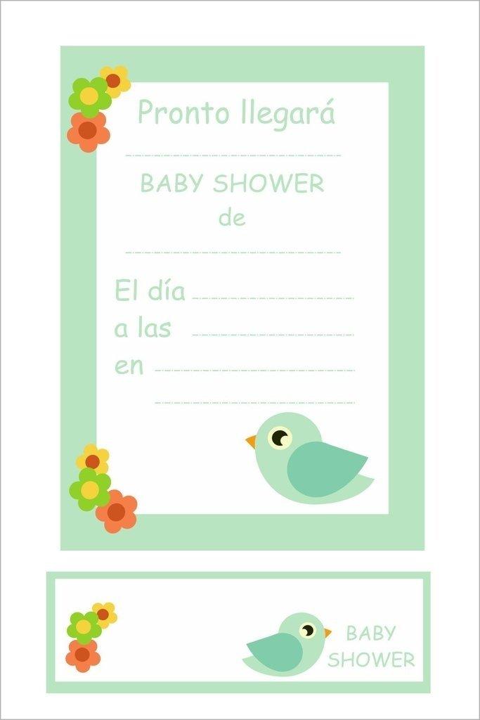 bd87fae4cef5f Invitaciones con souvenir - Baby Shower - katu