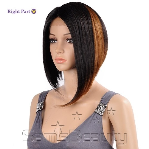 ENCOMENDA! Janet Collection W Part Synthetic Lace Front Wig - HESTINA - comprar online