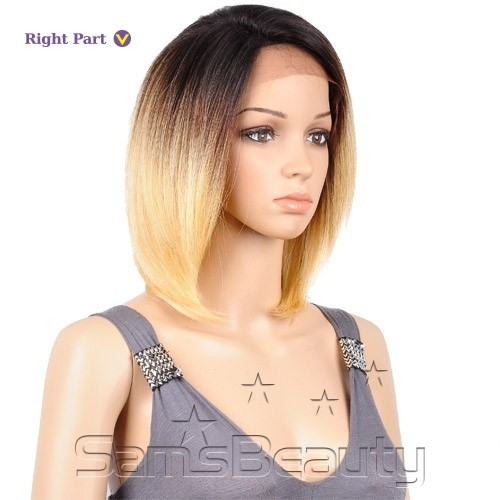 ENCOMENDA! ISIS HUMAN HAIR BLEND LACE FRONT WIG BROWN SUGAR SILK LACE BS601 - comprar online