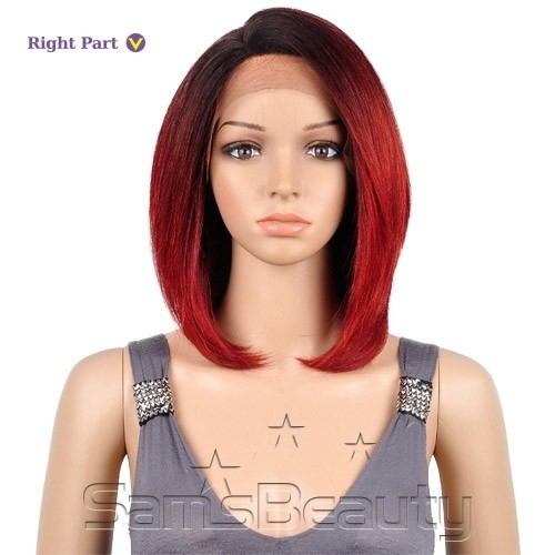 ENCOMENDA! ISIS HUMAN HAIR BLEND LACE FRONT WIG BROWN SUGAR SILK LACE BS601