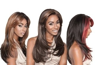 ENCOMENDA! Isis Brown Sugar Human Hair Blend Silk Lace Wig - BS603 (4X4 Full Lace Front)