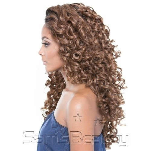 Imagem do ENCOMENDA! Isis Human Hair Blend Lace Front BROWN SUGAR - BS505 VIENNA