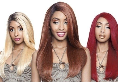 ENCOMENDA! Isis Brown Sugar Human Hair Blend Soft Swiss Lace Wig - BS202