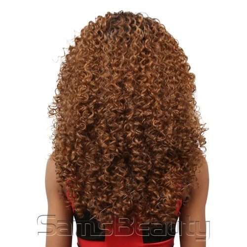 ENCOMENDA! Outre Synthetic L Part Lace Front Wig - DOMINICAN CURLY na internet