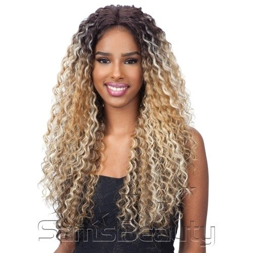 ENCOMENDA! Freetress Equal Synthetic Premium Delux Lace Front Wig - TALIA