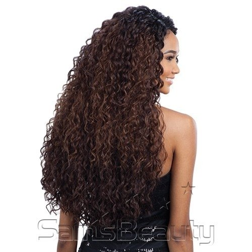 PRONTA ENTREGA - Freetress Equal Synthetic L Part Lace Front Wig - KITRON - cor 1B (preto) - comprar online