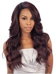 ENCOMENDA! Freetress Equal Synthetic Hair Lace Deep Invisible L Part Lace Front Wig - DANITY - comprar online