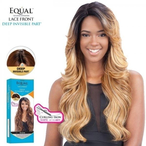 ENCOMENDA! Freetress Equal Lace Front Wig Deep Invisible Part - MIZZY