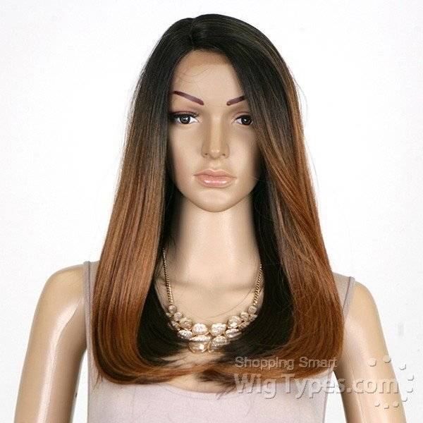 ENCOMENDA! Freetress Equal Invisible L Part Lace Front Wig - JUSTICE